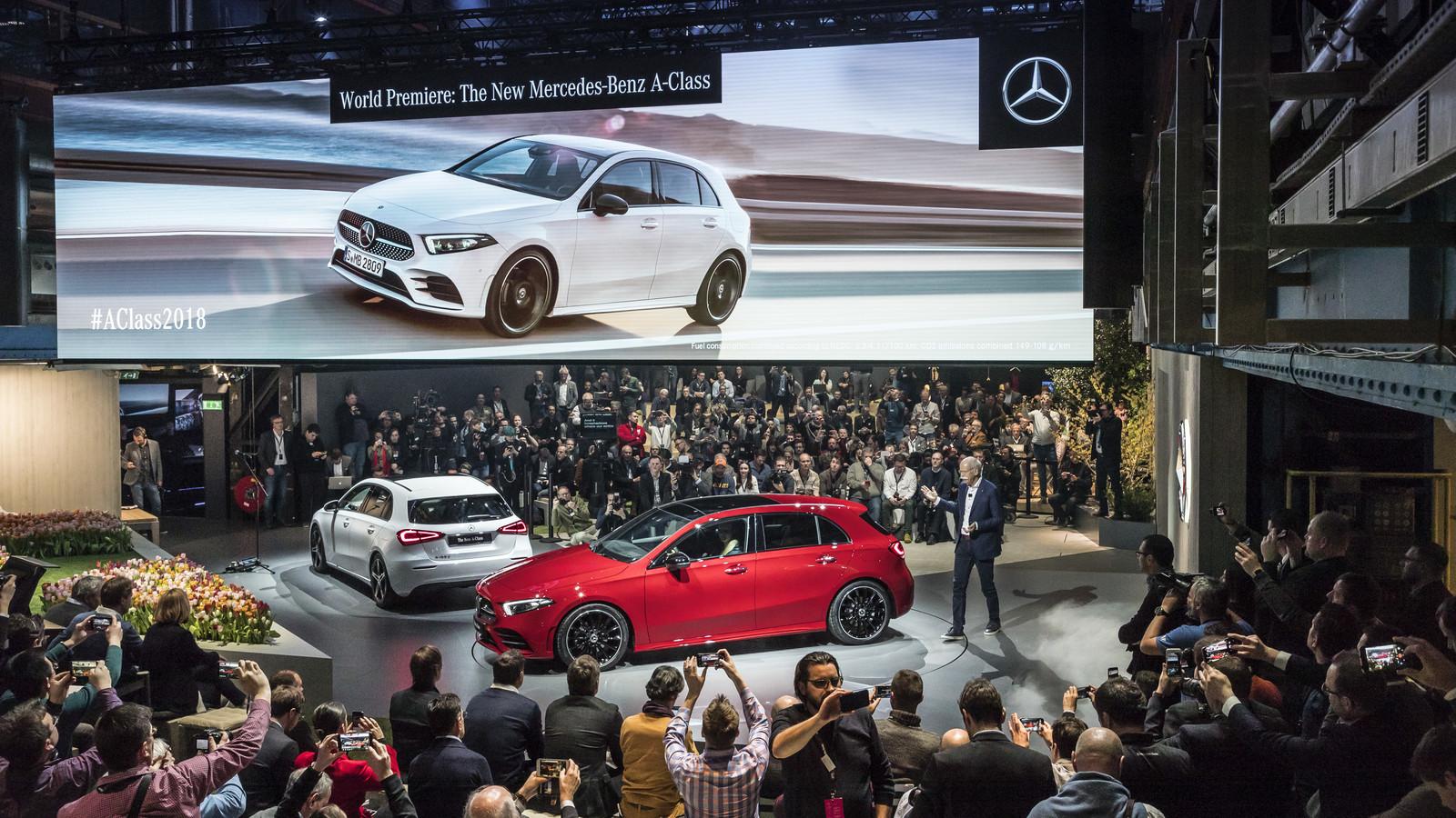 Foto de Mercedes-Benz Clase A 2018 - presentación (30/114)