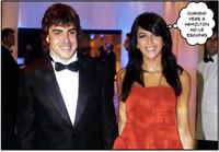 Fernando Alonso y Raquel, de gala en Mónaco