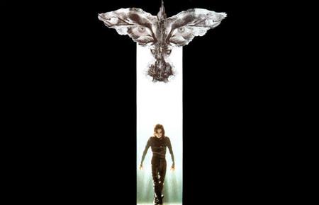 Cómic en cine: 'El cuervo', de Alex Proyas