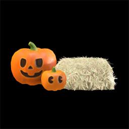 Animal Crossing New Horizons Guide Pumpkins Item Diy Icon Spooky Lantern Set