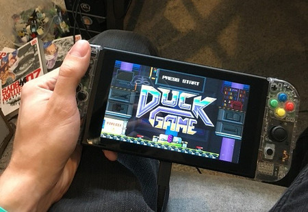 Duck Game, el alocado Smash Bros. protagonizado por patos pixelados, no se ha olvidado de Nintendo Switch