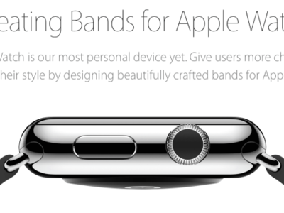 """Made for Apple Watch"", Apple da la bienvenida a las correas de terceros"
