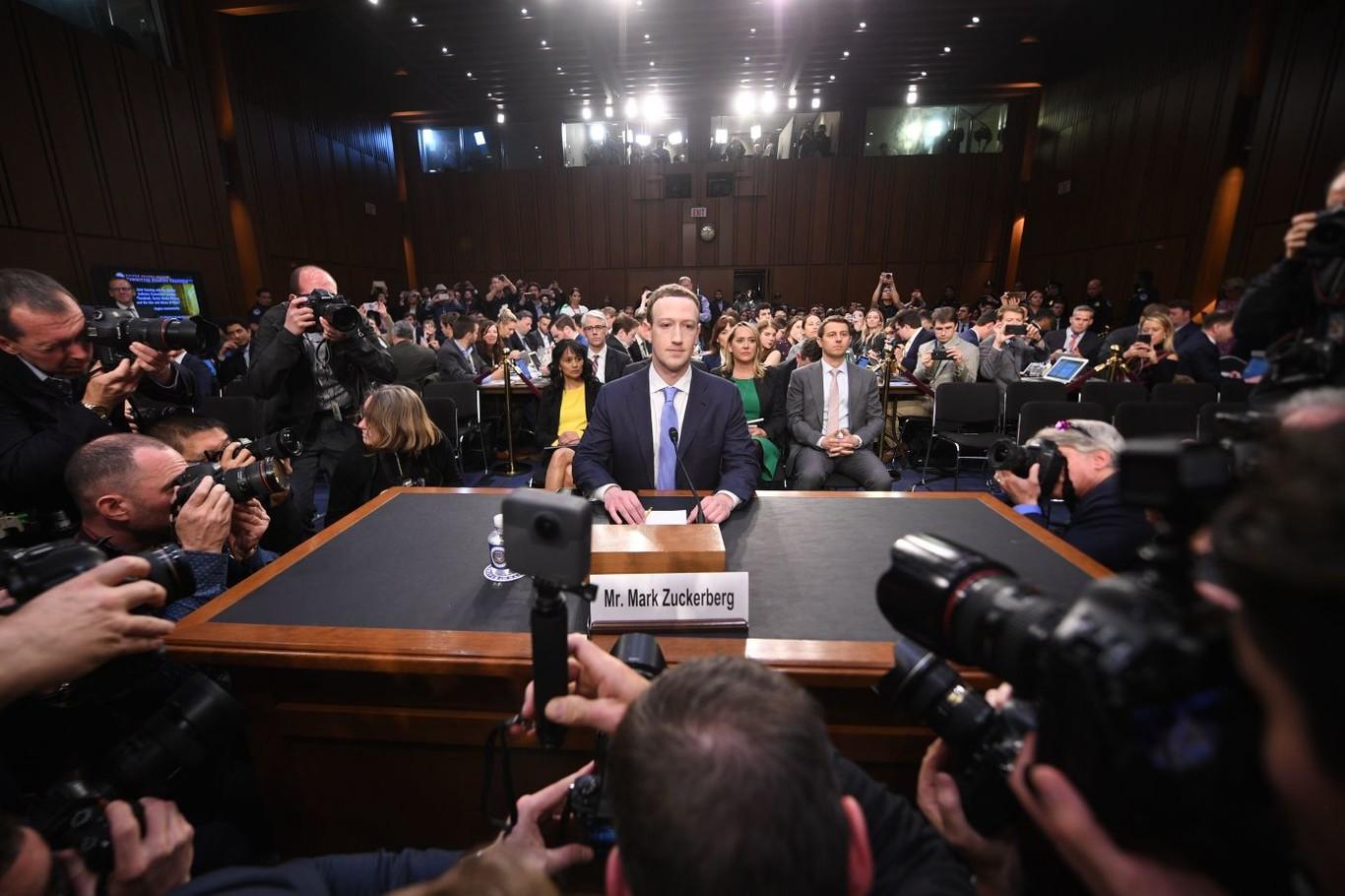 Mark Zuckerberg ante el Senado de EEUU, en 23 frases