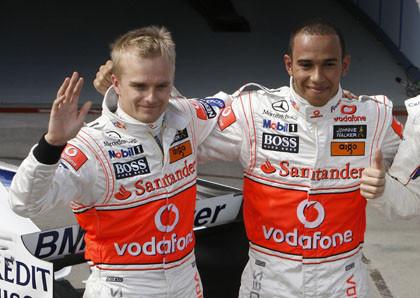 McLaren presume de la relación entre sus pilotos