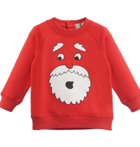 Stella Mccartney Kids Baby Red Father Christmas Billy Sweatshirt 113712 C6d94f6ab82477eeb62f5e1546c77d334601b2ef