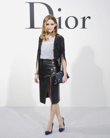 Olivia Palermo en el desfile de Dior