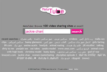 MetaTube, metabuscador de vídeos a través de internet