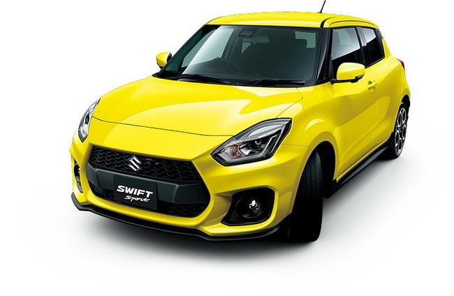Porque una no es ninguna, Suzuki muestra 6 nuevas fotos del próximo Swift Sport