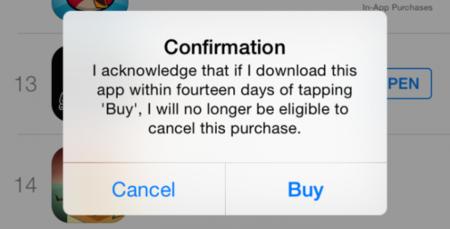 Ya sabemos cómo Apple tratará a los que abusen del nuevo derecho a devolver contenidos
