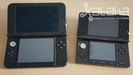 Comparativa tamaño pantalla 3DS