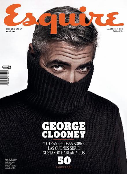 George Clooney más tímido que nunca para Esquire España