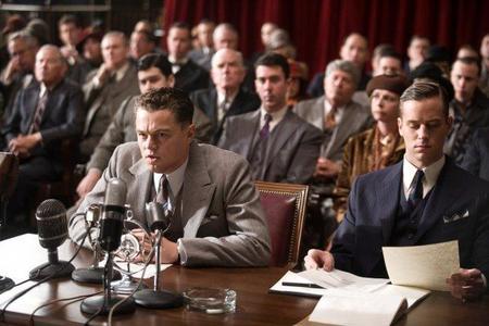 Leonardo DiCaprio es el protagonista de J. Edgar