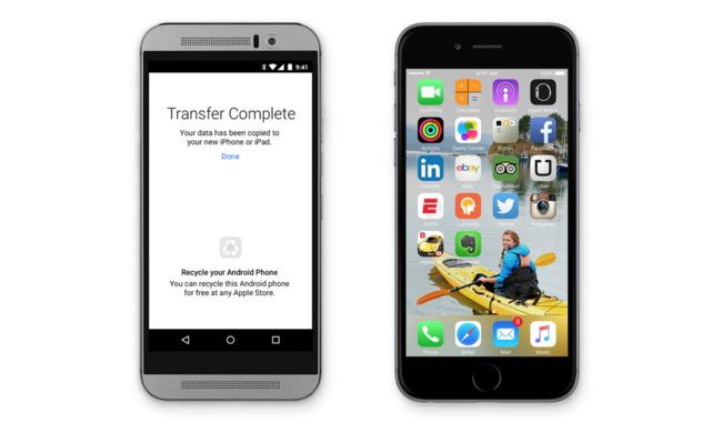 aplicaciones de iOS para Android