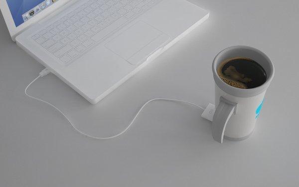 ICup: el café siempre caliente a través de USB