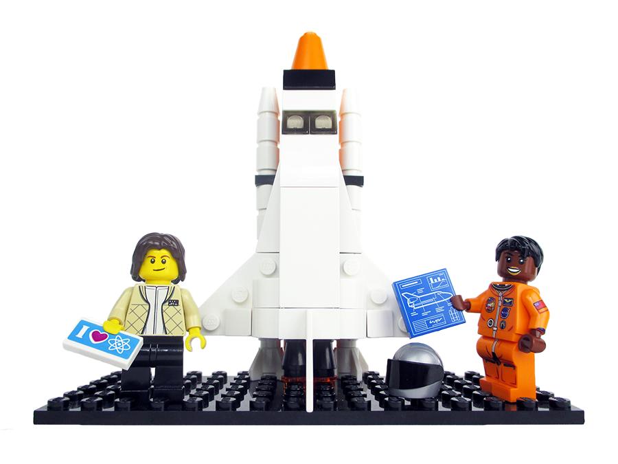 Lego Nasa Women 5