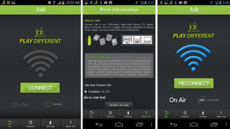 Aplicación bCoda Jak para Android