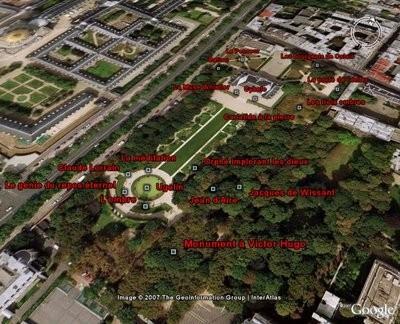 Visita los jardines del Museo Rodin con Google Earth