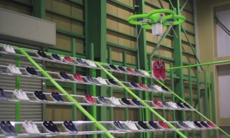 ¿Talla y color de zapatos? El drone te lo trae en esta tienda japonesa