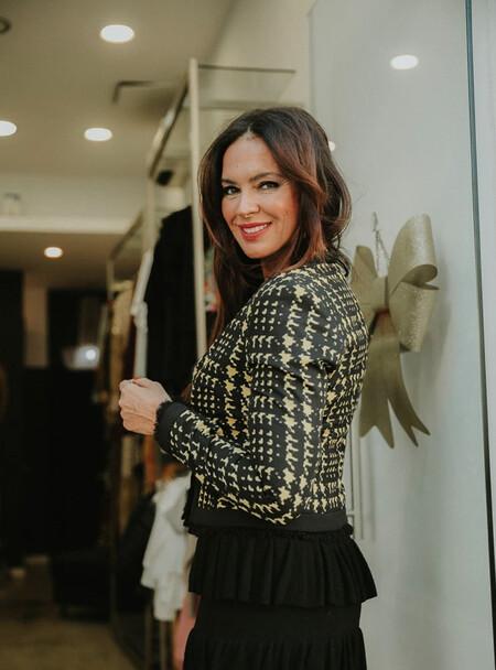 Olga Moreno en su tienda