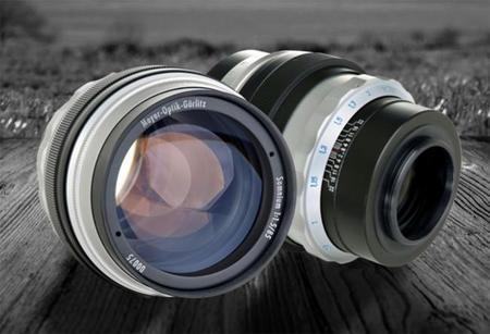 Estas son las ópticas que Meyer Optik Görlitz ya tiene listas para Nikon F, y esta otra la que llegará
