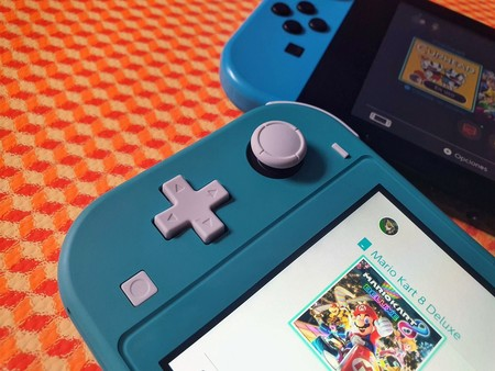 Nintendo Switch Lite Primeras Impresiones Mexico Controles