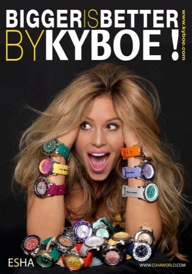 Los últimos relojes de Kyboe
