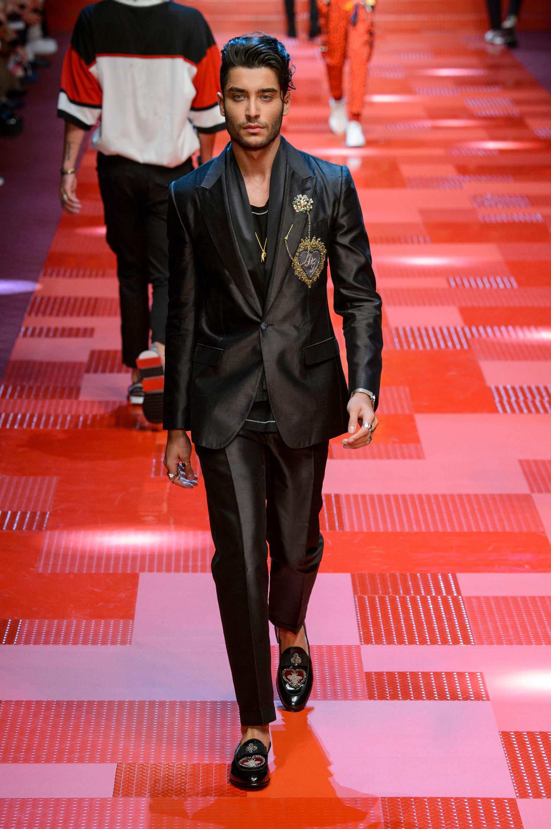 Dolce & Gabbana desfile