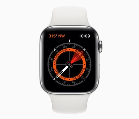 Apple Watch Series 5 Brujula