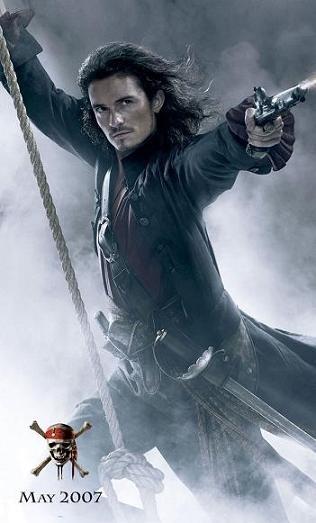 Poster de Will Turner en Piratas del Caribe 3