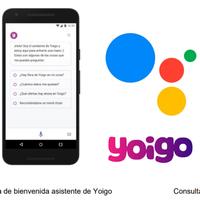 Yoigo también tendrá su propio asistente integrado en Google