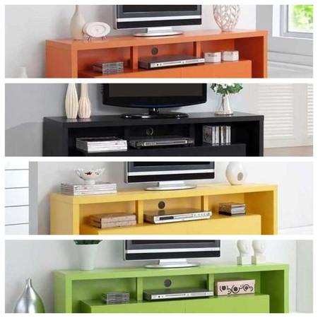 Dale un toque de color a tu salón con este mueble TV por 134,58 euros y envío gratis en eBay