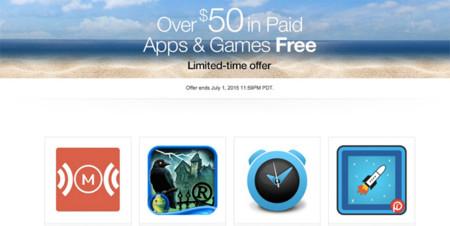 Amazon regala más de 50 dólares en apps, hasta el primero de julio