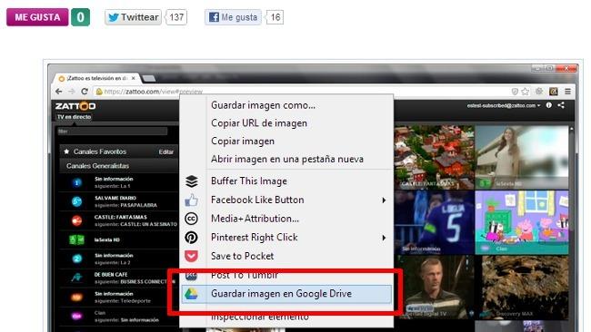 Novedades en Google Drive: extensión oficial para Chrome y comentarios en imágenes