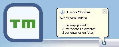 Tuenti Monitor, tu notificador de Tuenti
