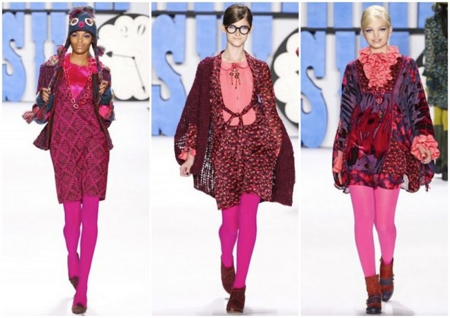 anna sui collage