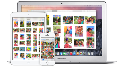 apple mac iphone ipad ios os x yosemite 8 fotos icloud