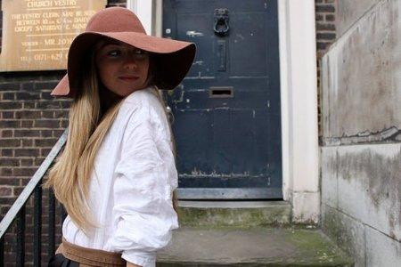 American Apparel sombrero de moda