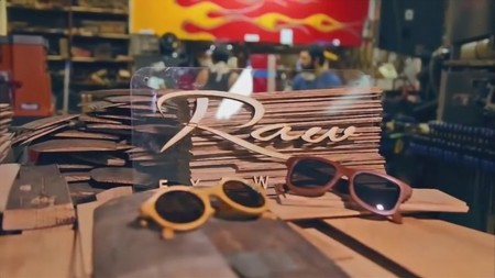 Bacardi Sunglasses Recicled Wood