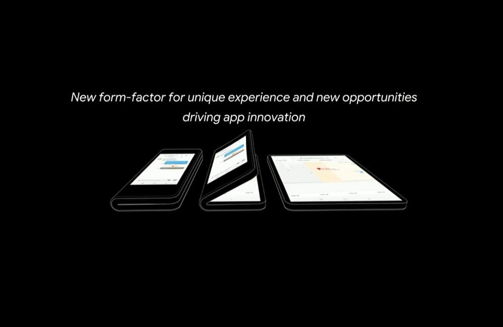 Google da mas recientes detalles encima el amovible plegable de Samsung® y de su versión singular de Android-OS