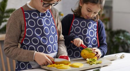 La guía definitiva para elegir un cuchillo para niños: cómo usarlo de forma segura y evitar accidentes en la cocina
