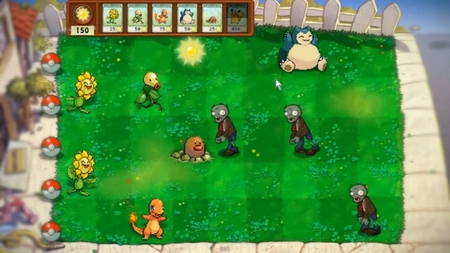 Simpático vídeo sobre el 'Pokémon vs. Plants vs. Zombies'