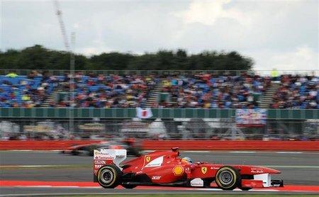 GP de Gran Bretaña F1 2011: Fernando Alonso