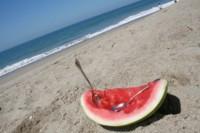 Comer sano en la playa: algunas ideas