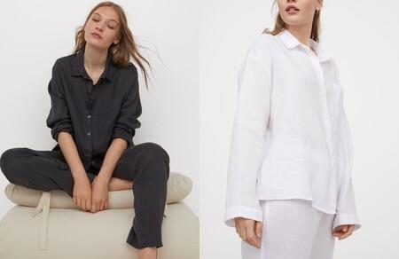 Pijama En Lino Lavado 2