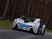 BMW Vision EfficientDynamics, el coche del futuro para el Salón de Fráncfort