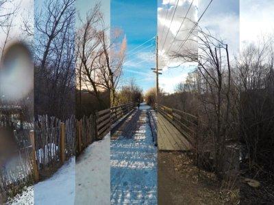 Este timelapse resume a un runner después de 256 km, un año, cuatro estaciones y 98366 fotos