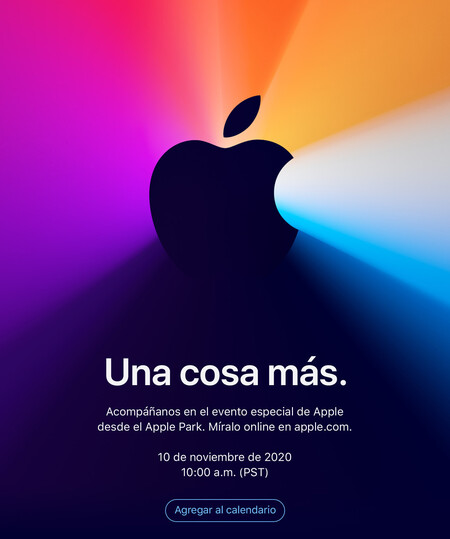 Apple Evento 10 Noviembre One More Thing Una Cosa Mas