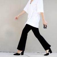 La blusa minimalista (y oversize)