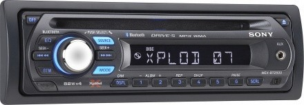 MEX-BT2500: autoradio de Sony con Bluetooth