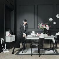 La diseñadora Chantal Thomass colabora con Maisons du Monde en una colección cápsula con el blanco y negro como protagonistas